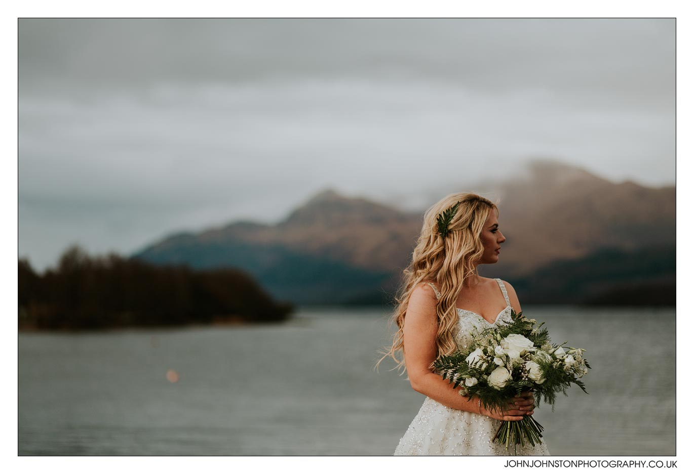 Wedding Flowers Loch Lomond