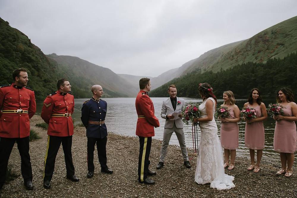 Elopement Wedding Flowers Scotland