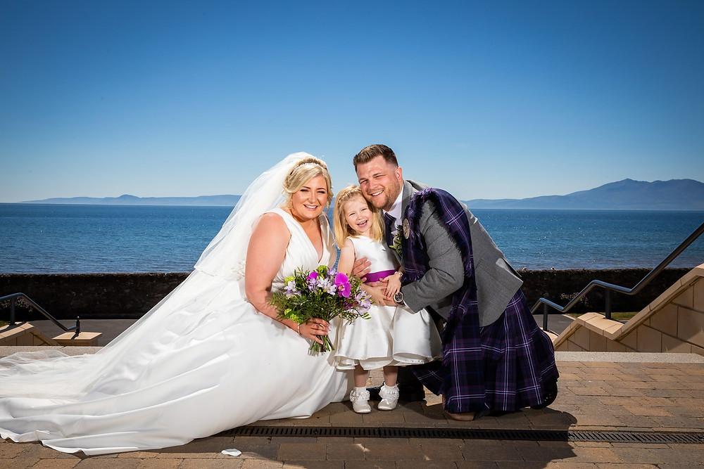 Wedding Flowers Seamill Hydro Ayrshire
