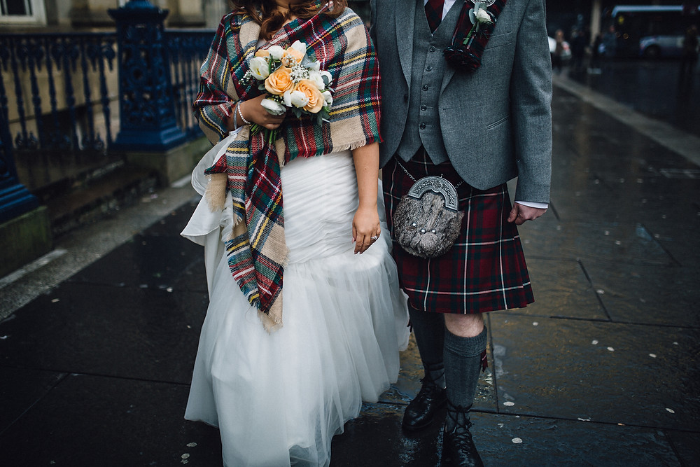 Glasgow Wedding Bride and Groom at 29 Glasgow