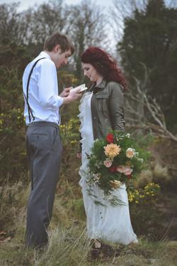 Elopement Wedding on Isle of Arran