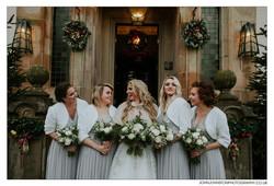 Bridal Party Flowers Loch Lomond