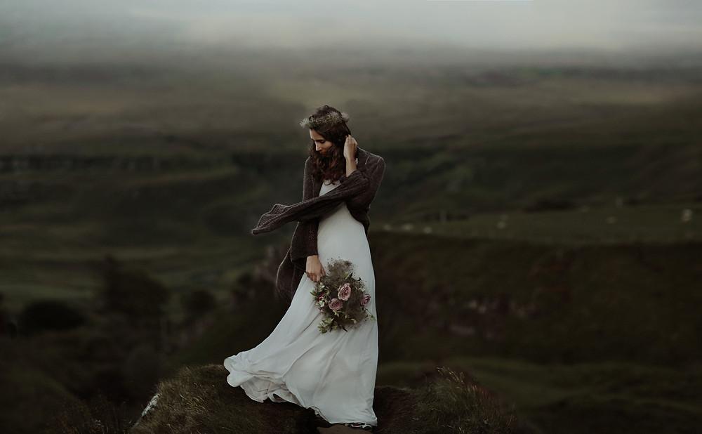 Scottish Elopement Wedding Flowers