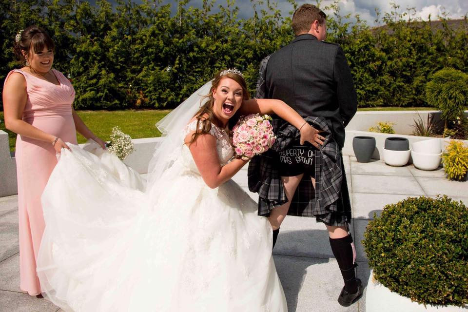 Funny Wedding Photos Scotland
