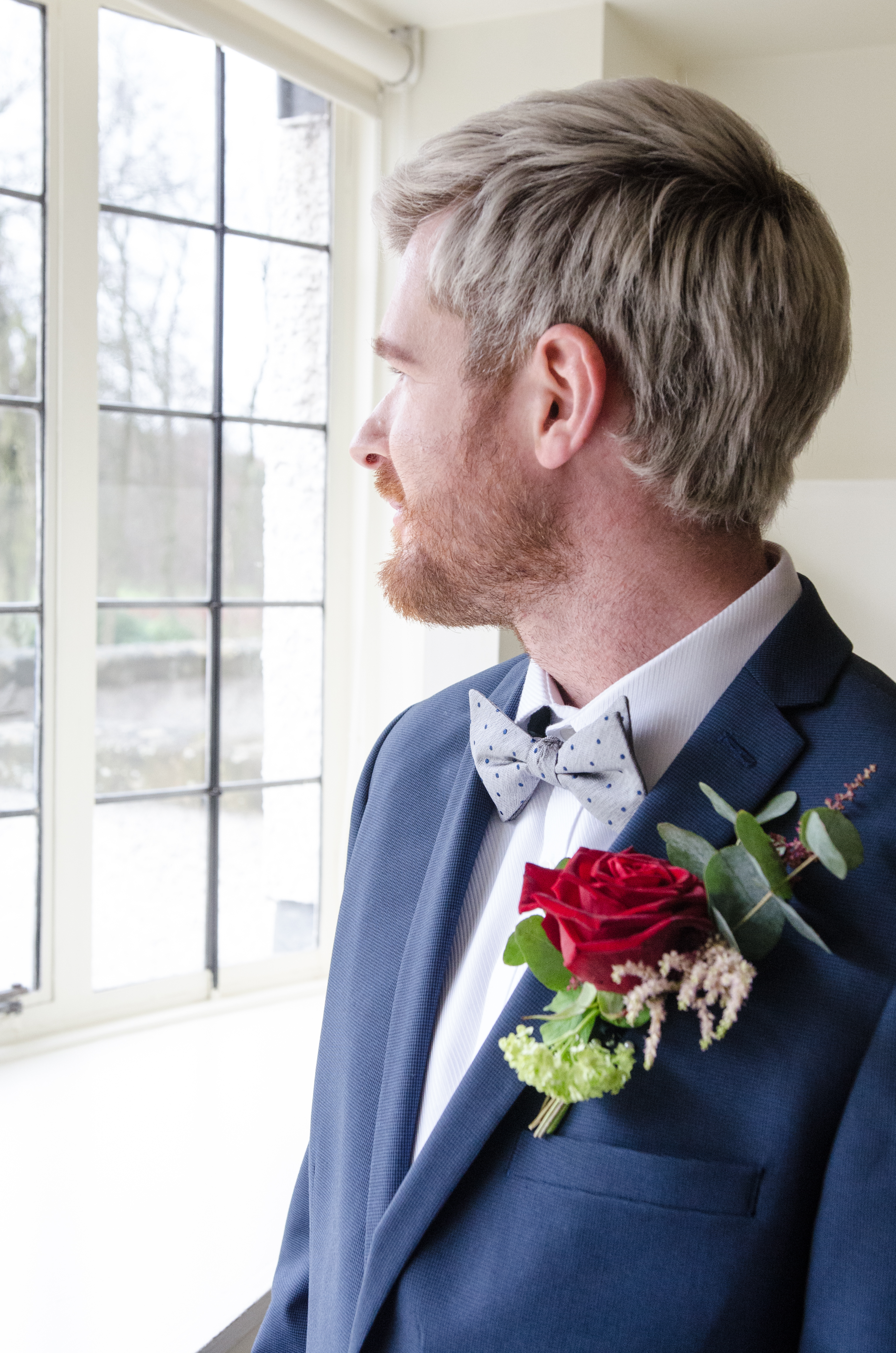 Gents Buttonhole, Glasgow Wedding