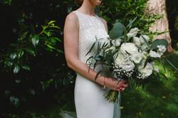 White Wedding Flowers Airth Castle
