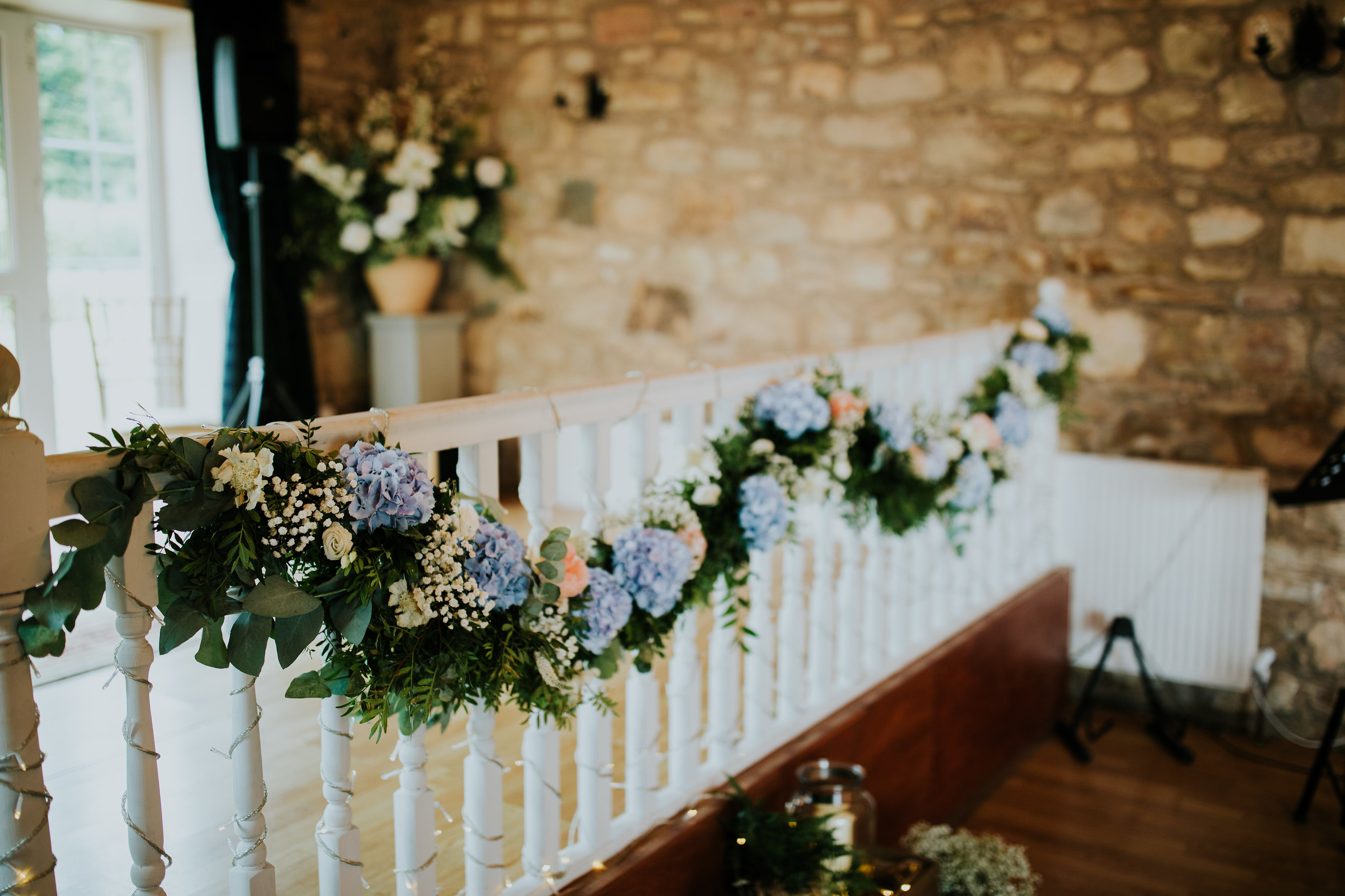 Rustic Barn Wedding Flowers