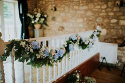 Rustic Barn Wedding Flowers