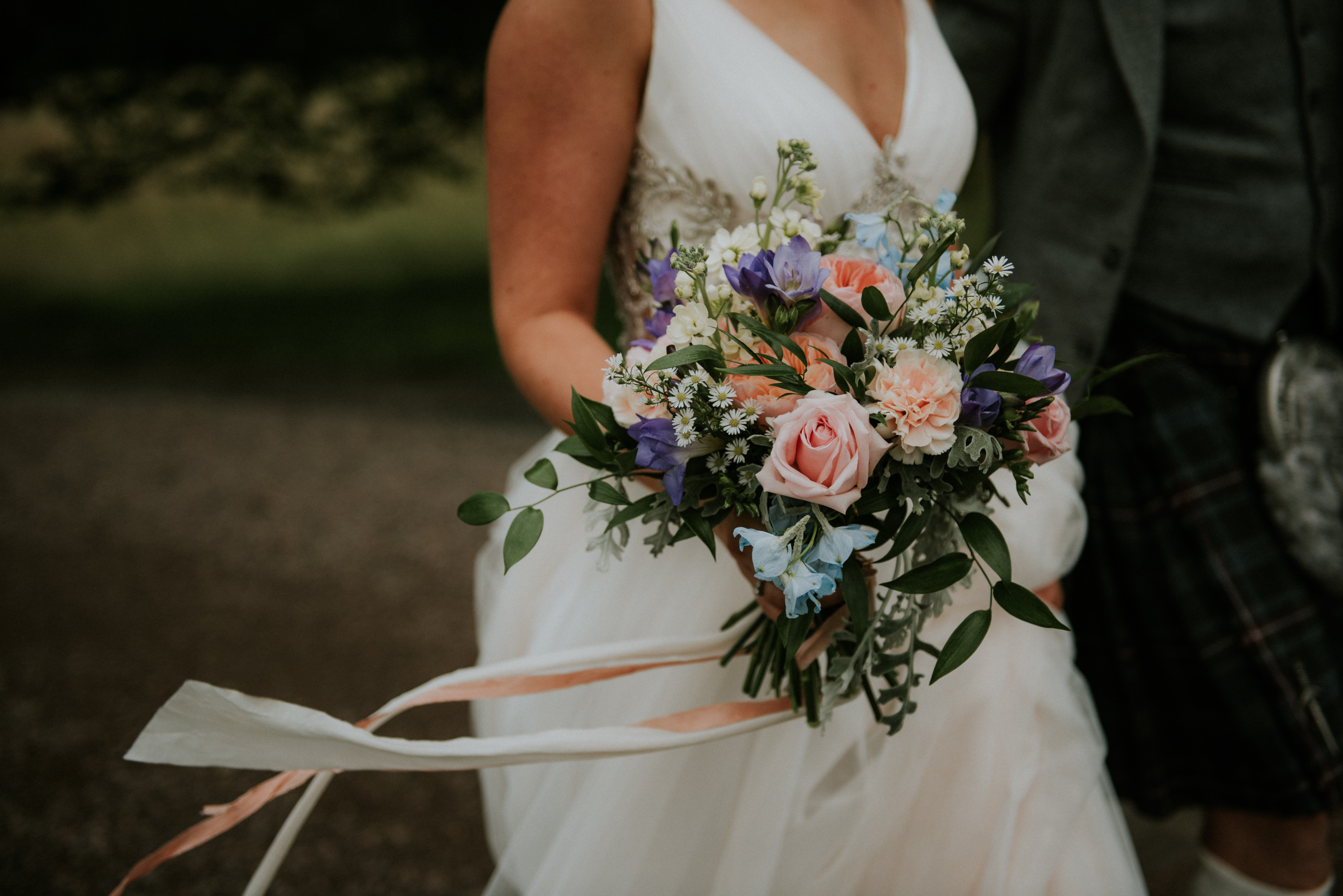 Natural Wedding Flowers, Scotland