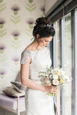Loch Lomond Wedding Flowers