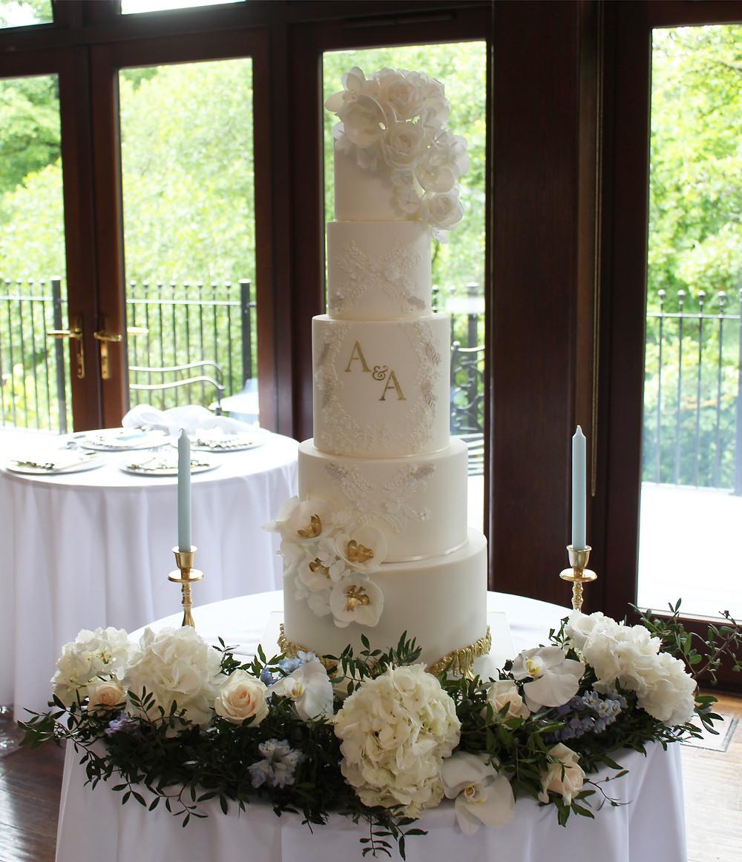 Floral Cake Table Crossbasket Castle