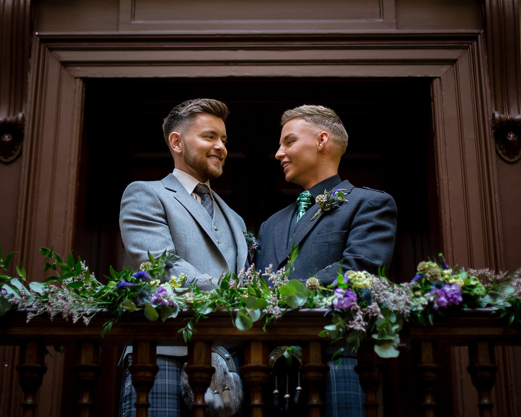 Same Sex Glasgow Wedding