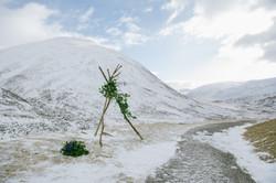 Winter Wedding Glenshee Scotland