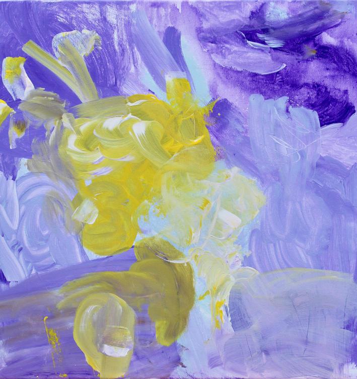 lavender fields, 50 x 50