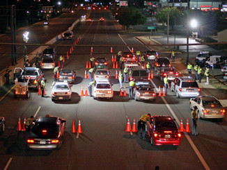 DUI checkpoints new policy in the city of La Puente, CA.