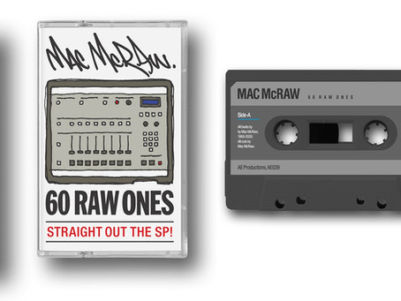 MAC McRAW - 6O RAW ONES - BEAT TAPE CASSETTE