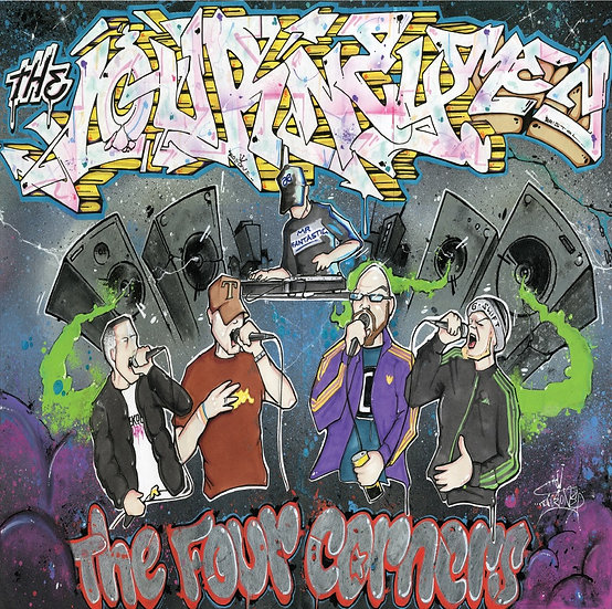 The Journeymen - The Four Corners LP