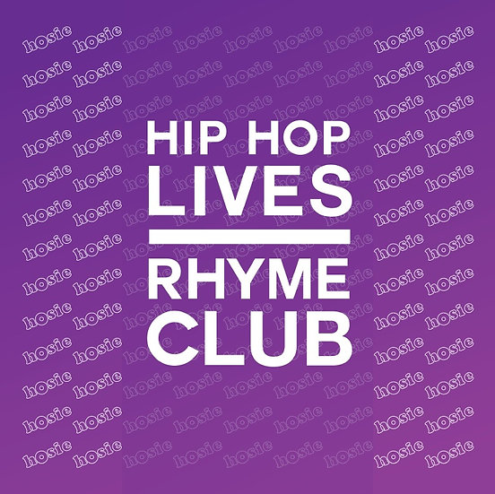 Hosie - Hip Hop Lives / Rhyme Club 7""