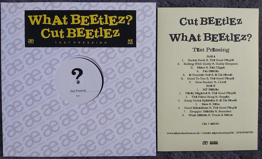 Cut Beetlez - What Beetlez? TEST PRESSING LP
