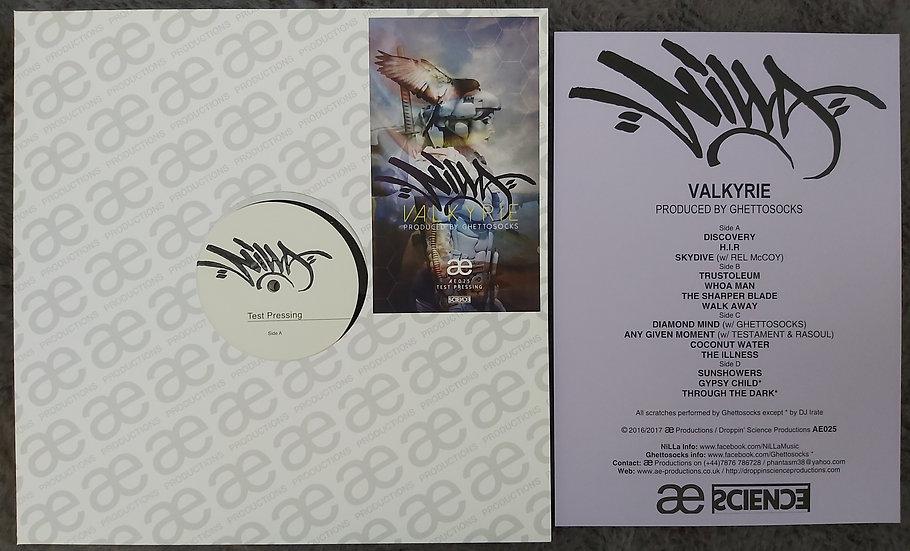 NiLLa - Valkyrie TEST PRESSING LP Produced by Ghettosocks