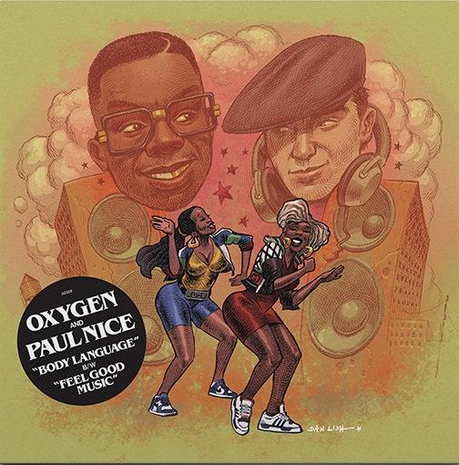 "Oxygen & Paul Nice - Body Language 7"""