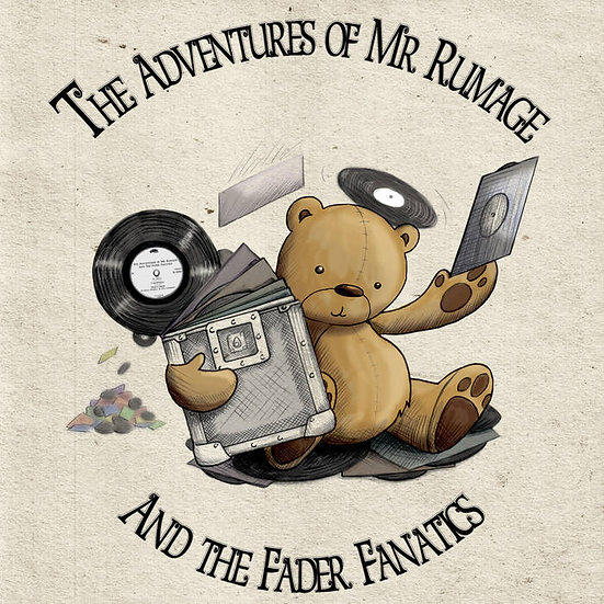 DJ Rumage - The Adventures of DJ Rumage 12""