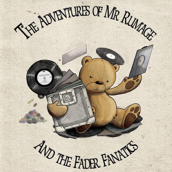 "DJ Rumage - The Adventures of DJ Rumage 12"""
