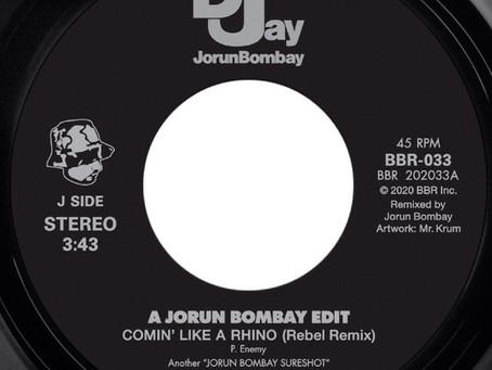 "JORUN BOMBAY BLACK BUFFALO 7"" RESTOCK"
