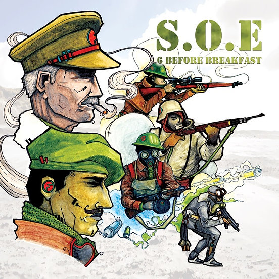 S.O.E - 6 BEFORE BREAKFAST EP + INSTRUMENTALS