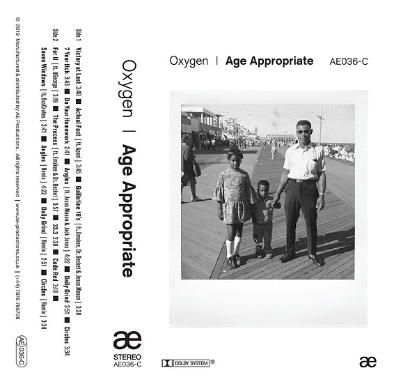 OXYGEN - Age Appropriate Limited CASSETTE