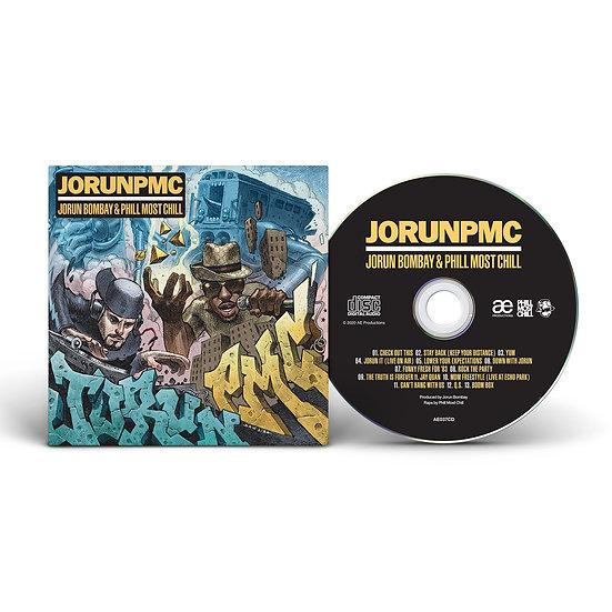 JORUN PMC (JORUN BOMBAY & PHILL MOST CHILL) ALBUM CD
