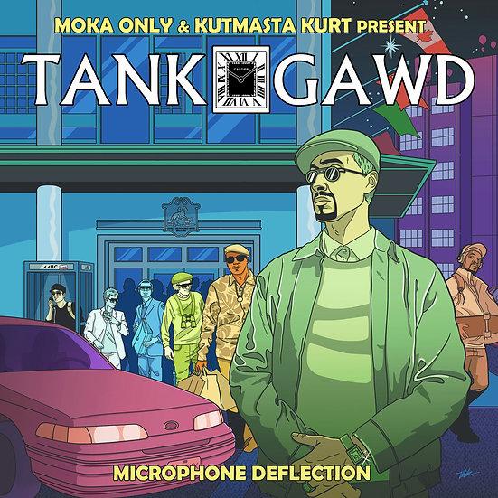 TANK GAWD - MICROPHONE DEFLECTION - CASSETTE