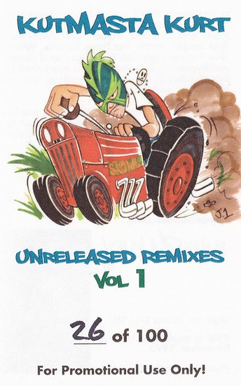 Kutmasta Kurt - Unreleased Remixes Cass