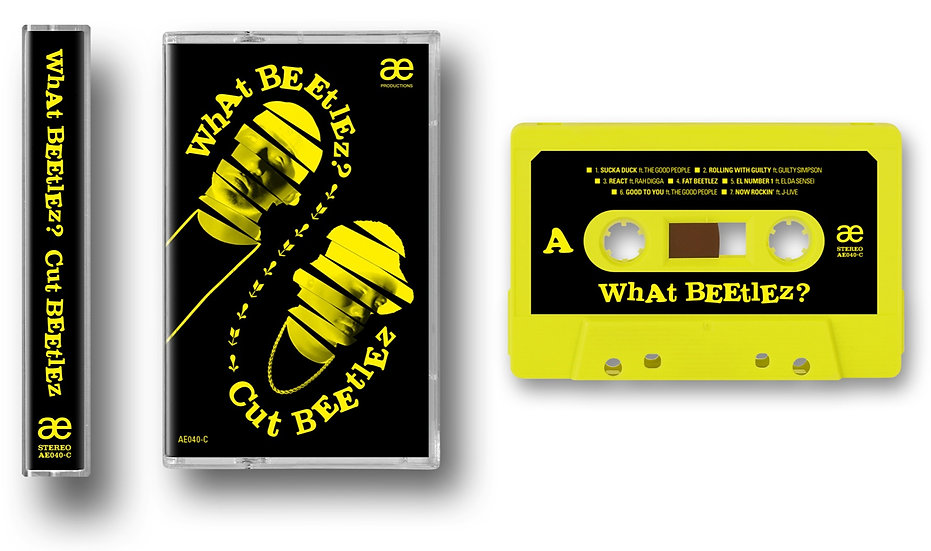 Cut Beetlez - What Beetlez? Cassette