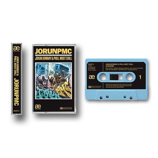 JORUN PMC (JORUN BOMBAY & PHILL MOST CHILL) ALBUM CASSETTE