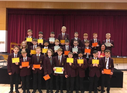 Maths Certificates for Year 8 students!