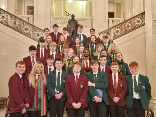 Shared Education trip to Stormont