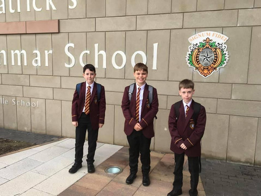 First Day for Year 8