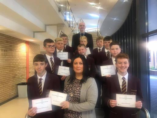Junior Maths Challenge Winners