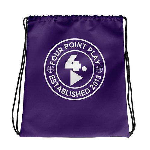 FPP Flagship Logo Drawstring bag (Purple)