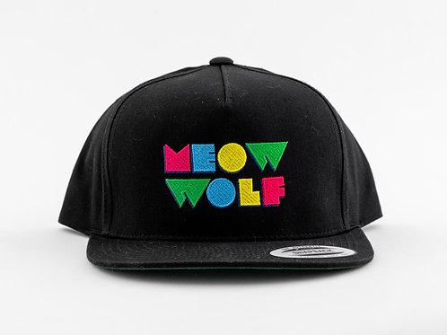 Meow Wolf Logo Snapback Hat