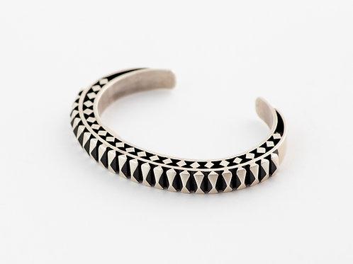 Authentic Navajo Sterling Silver Bracelet