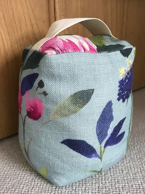 Bluebellgray butterfly doorstop in Teal