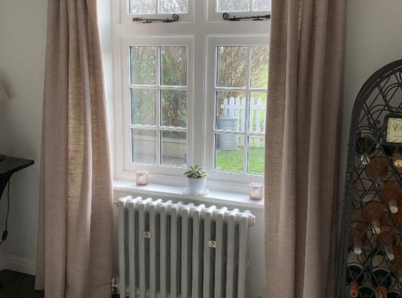 Cottage pleat Hall curtains.jpg