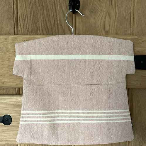 Susie Watson Peg Bag - Pale Rose Stripe