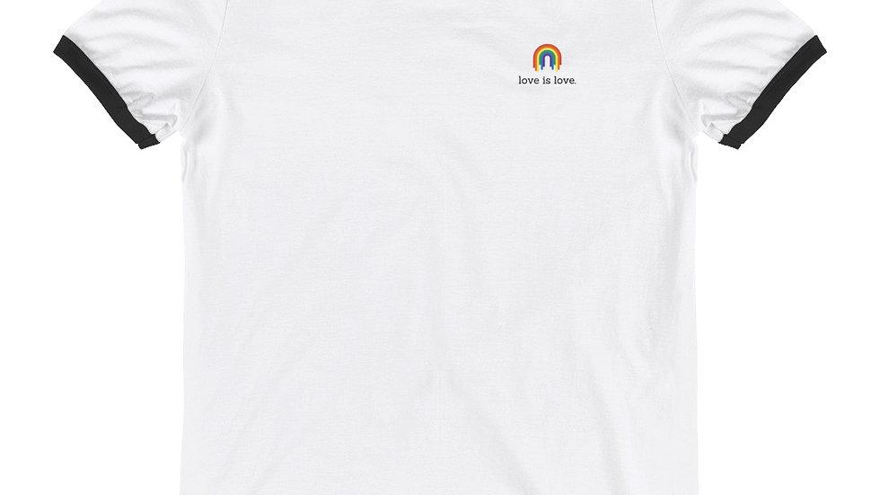 Unisex - Ringer T-Shirt - 100% Cotton