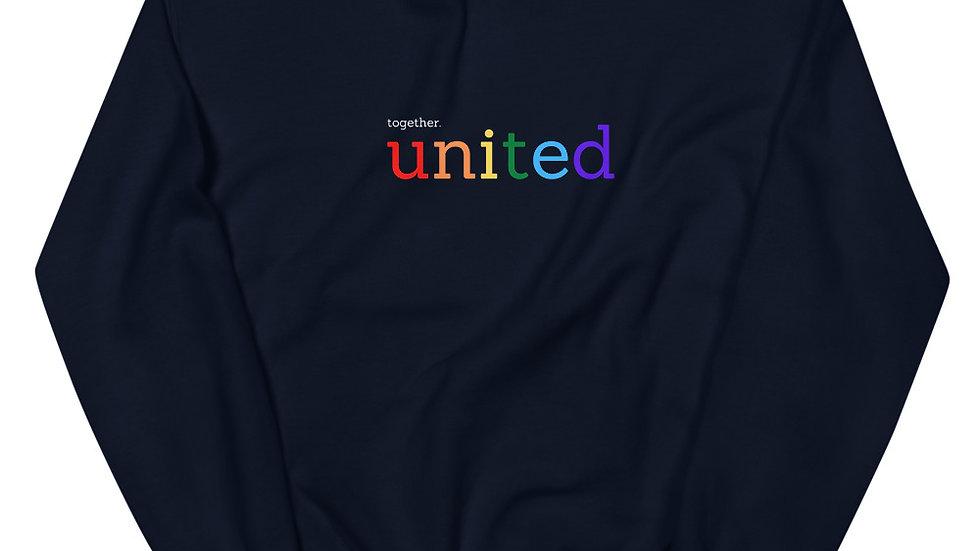 together united - Unisex Sweatshirt