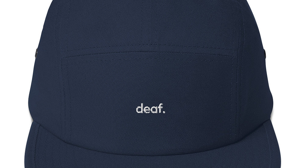 deaf. - Panel Cap - Unisex - 100% Cotton