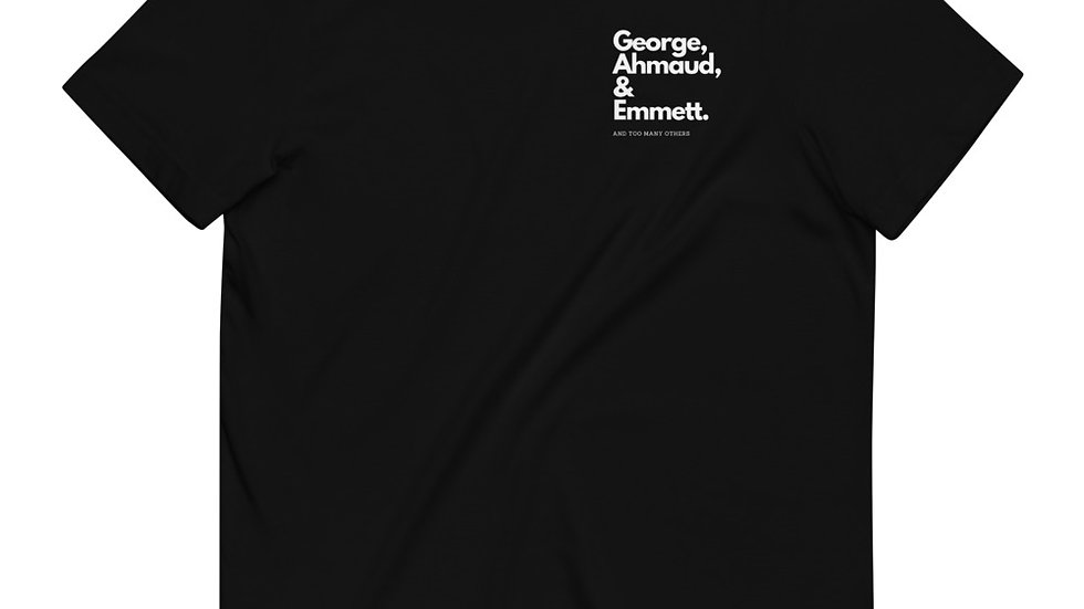 George, Ahmaud & Emmett. - Unisex - 100% Organic Cotton T-Shirt