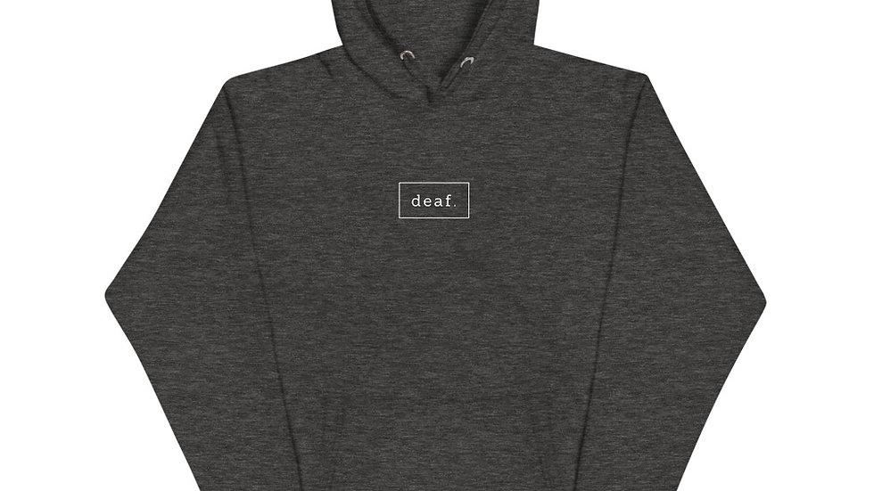 deaf. sweater. unisex